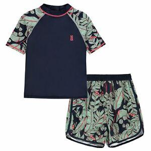 Soulcal-Enfants-Garcons-2pc-Swim-Junior-plage-maillot-de-bain