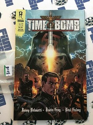 signed TIME BOMB #1 1st print JIMMY PALMIOTTI radical comic book NM COA