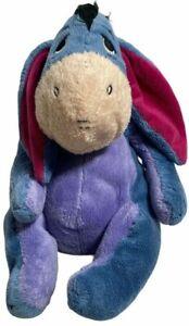 Vintage Applause Disney Winnie The Pooh Eeyore Donkey Plush Stuffed Animal Toy
