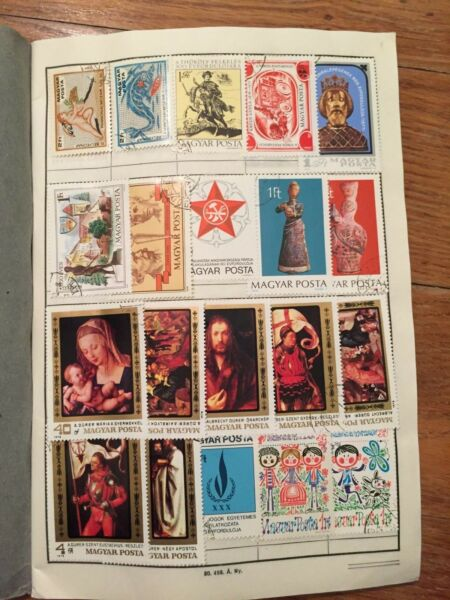 #255 Hungary Magyar 3rd album collection 50 pages read description