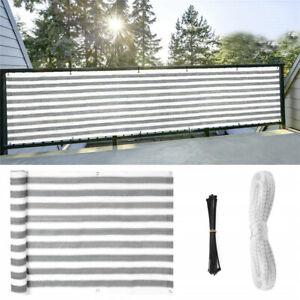 Balcony Privacy Screen Fence Mesh For Balcony Windscreen Sun