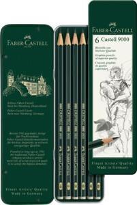 Faber-Castell-9000-Art-Set-Graphite-Pencils-in-Tin-6pk