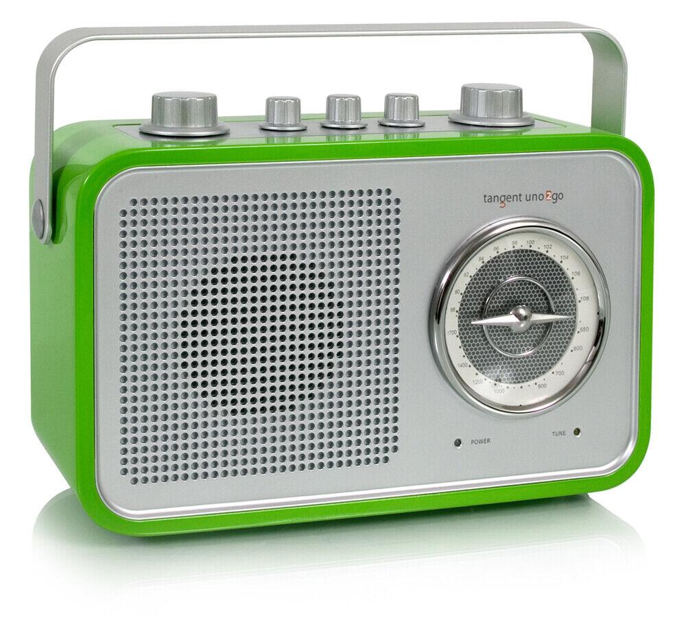 Tangent  onu 2 Go-Portable retro transistor con FM MW y aux verde  hasta un 60% de descuento