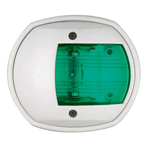 Fanale Classic 12 verde bianco Segnalazione 1 PZ Osculati 11.410.12-11410