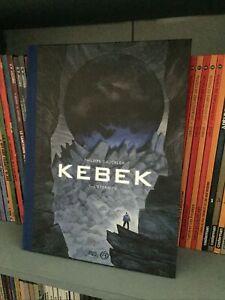 Kebek T.1:L'éternité- Philippe Gauckler +Ex-libris signé -Dossier graphique - BD