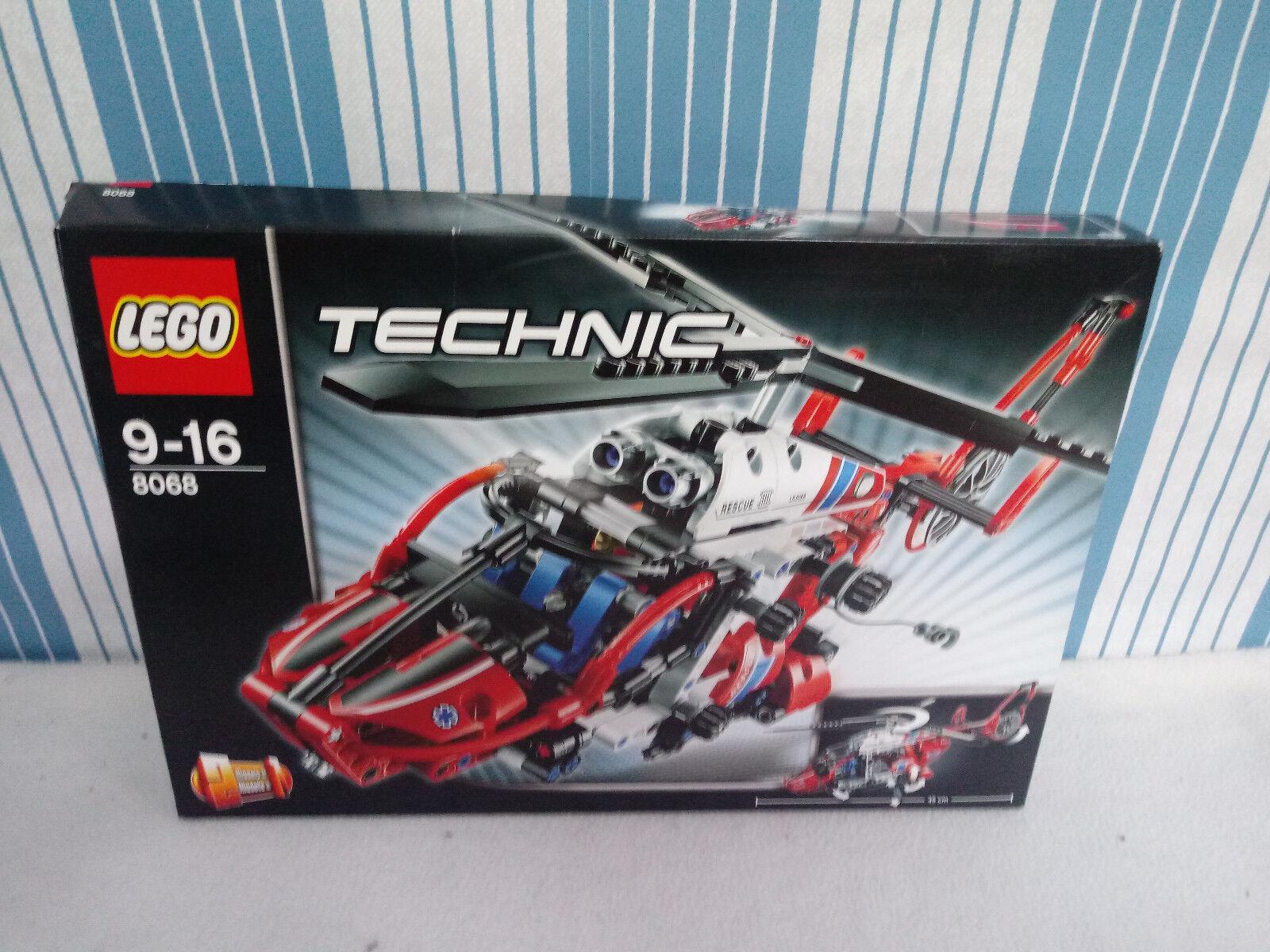 LEGO Technic Rettungshubschrauber 8068 +OVP + BA
