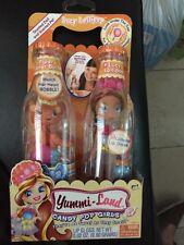 Yummi Land Lucy Lollipop Candy Pop Girls Piper Peanut Butter Doll & Pet 346203