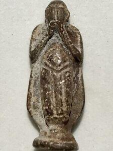 PHRA PIDTA LP DUM RARE OLD THAI BUDDHA AMULET PENDANT MAGIC ANCIENT IDOL#814