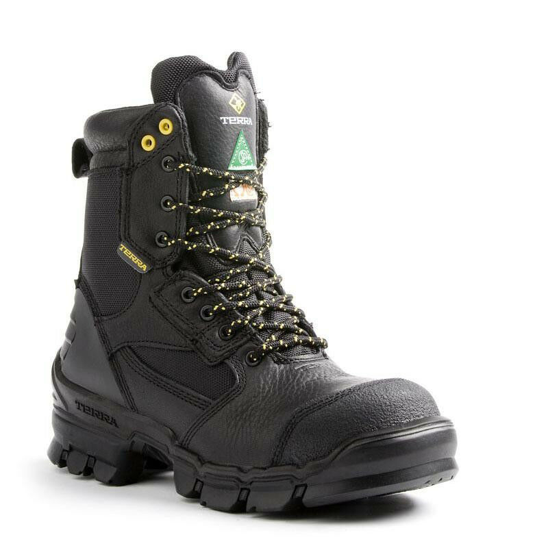 Terra Aerial Safety / work Boots 805525 CSA Composite Toe & Plate,insulated 200g