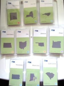 QuicKutz-2x2-034-State-Die-YOUR-CHOICE-New-Mexico-to-South-Carolina
