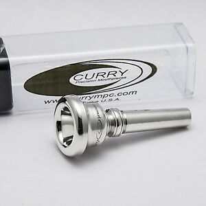 Genuine Curry Vintage Series 10.5VC Silver Cornet Mouthpiece NEW