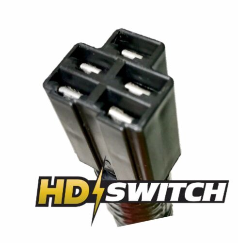 INCLUDES TERMINALS Replaces Scag 48018 Key Switch Connector