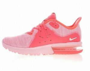 Details about Nike Air Max Sequent 3 Womens 908993 601 Artic Punch Knit Running Shoes Size 8.5