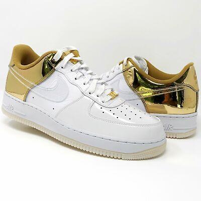 Nike Air Force 1 Low Size 11 'Shanghai - Golden Era' White/Gold | eBay