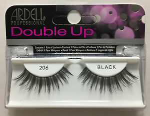 0fa24df07e7 LOT OF 4) Ardell Double Up 206 Professional Eyelashes Authentic ...