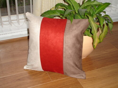 Super soft faux suede cushion covers