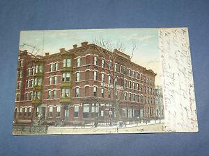 VINTAGE 1908 MEYER'S HOTEL HOBOKEN      NEW JERSEY  POSTCARD