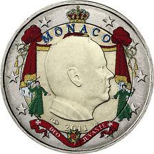Coin / Munt Monaco 2 Euro 2011 Prinz Albert II Unc collor