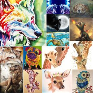 DIY-5D-Diamond-Painting-Colorful-Animal-Embroidery-Cross-Needlework-Craft-Stitch