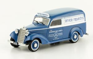 Mercedes-Benz-170D-Service-Truck-Fangio-Dealership-Argentina-Rare-Diecast-1-43