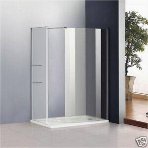 Wet Room Shower Screen No Support Bar