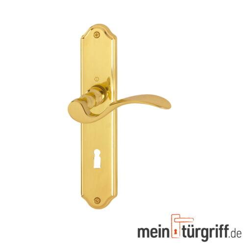 Hoppe Potsdam Türgriff BB Messing poliert F71 M112PL//310P Türdrücker Türbeschlag