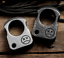 Outdoor EDC Knuckle Survival Escape Tool Stainless Steel Ring Portable Breaker