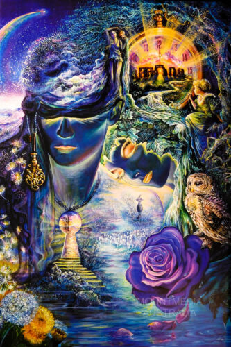 LAMINATED JO WALL NEW LICENSED ART 61X91CM KEY TO ETERNITY POSTER