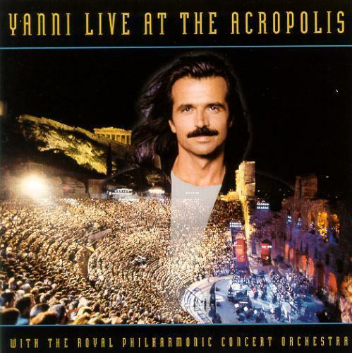 1 of 1 - YANNI - Live At The Acropolis (CD 1994) USA Import EXC-NM