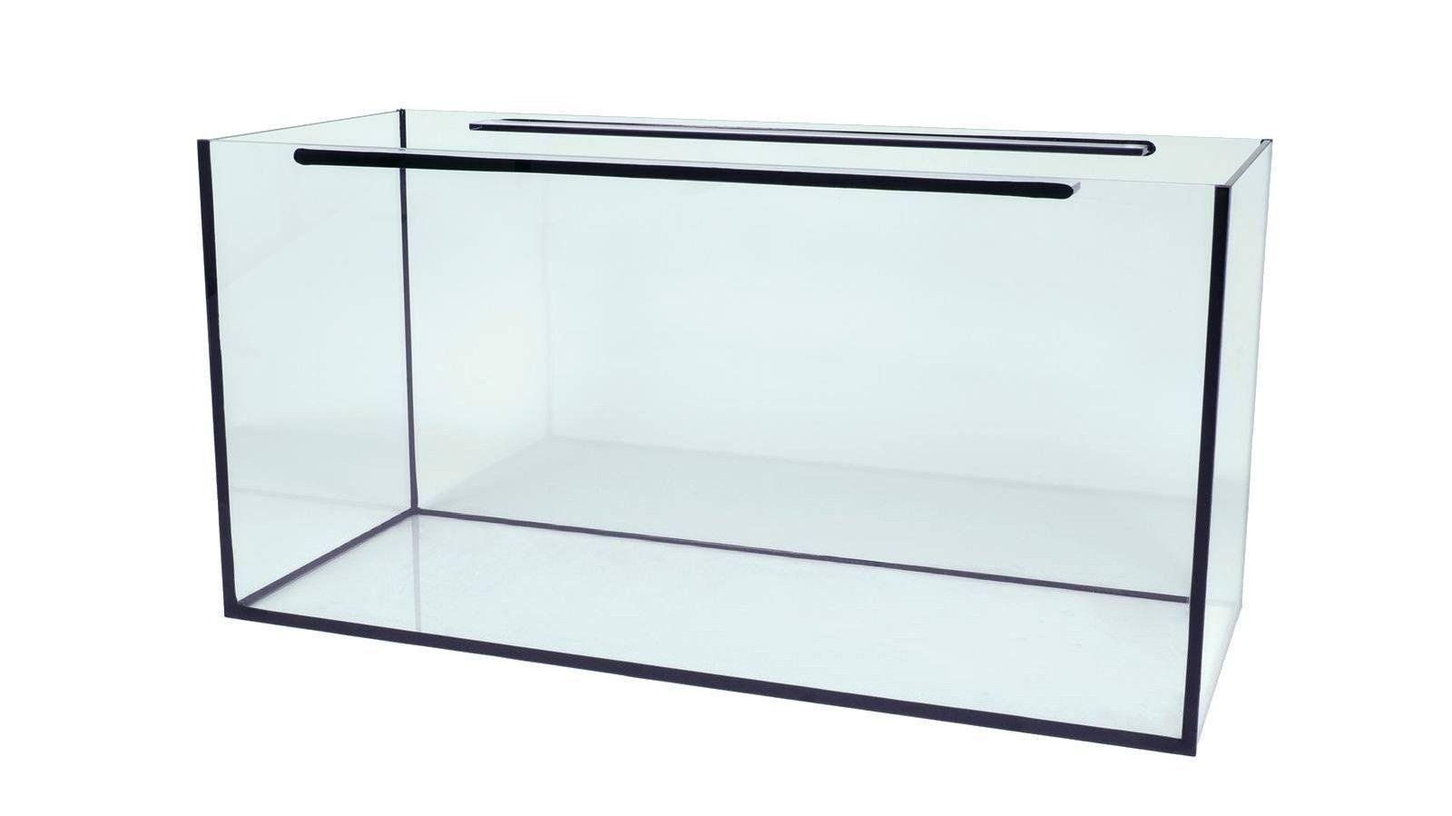 Aquarium 100x60x50cm 10 mm  TOP-Preis  Schwarze oder transparente Verklebung