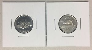 CANADA-2017-New-2-x-5-cents-100-FULL-Kit-UNC-directly-From-mint-roll