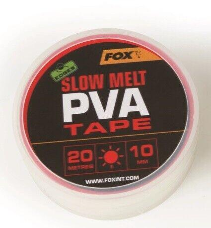 Fox Edges Slow Melt PVA Tape 10mm x 20m