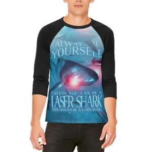 camiseta hombre que tú para menos Shark raglán mismo Laser a la sé Siempre de A6qapw