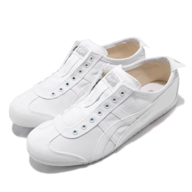 cheaper 8d186 5c44b Asics Onitsuka Tiger Mexico 66 Slip On White Men Shoes Sneakers 1183A501-100