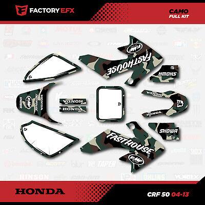 Kit D/éco Moto//MX Decal Kit for Honda CRF Camo