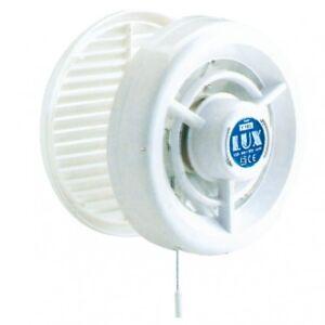 LUX281 - ø.160 - Aspiratore da finestra con A/C automatica e Interruttore a cord