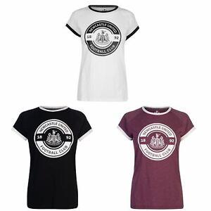 1941bf0a89d Newcastle United 1892 Crest T-Shirt Womens Football Soccer Fan Top ...