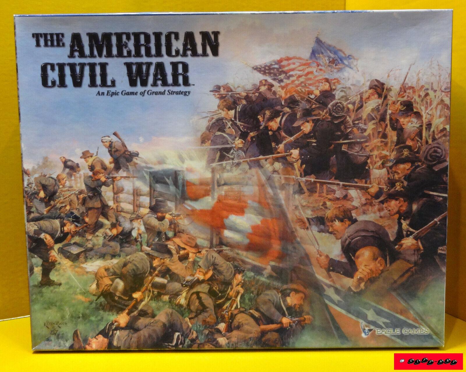 Prezzo al piano The American Civil War-Eagle giocos-Mattoncini, giocos-Mattoncini, giocos-Mattoncini, completamente & ottime condizioni  molte concessioni