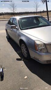 2007 Cadillac DTS 4 door luxury sedan