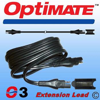 O3 OptiMate SAE Extension Lead - 1.8m.
