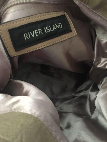 Faux River Fur Handbag Island Bnwt A5w805