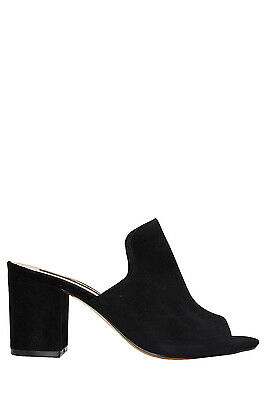 NEW Jane Debster Arizona Black Suede Sandal