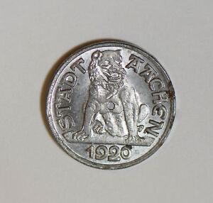 German-States-1920-Notgeld-10-Pfennig-lion-animal-GE0135-combine-shipping