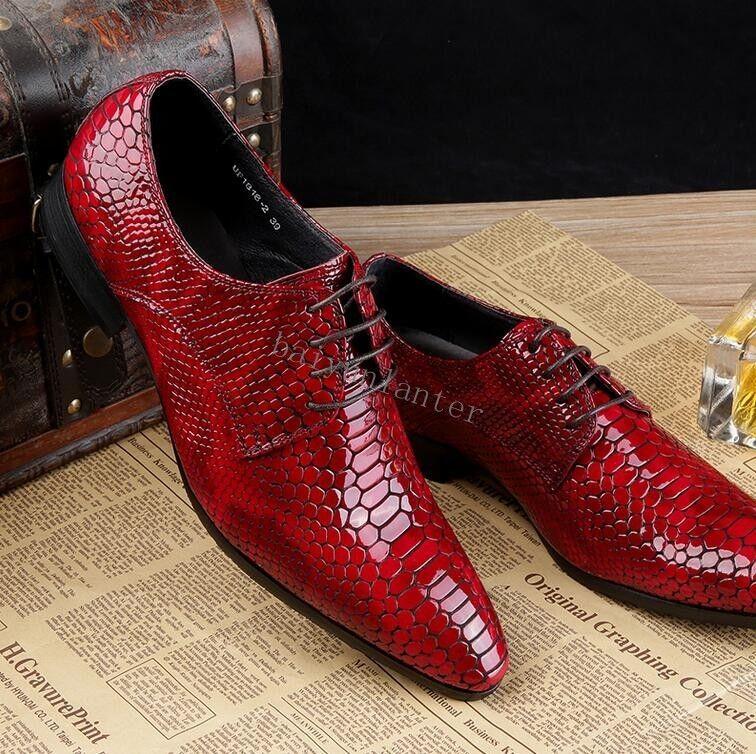 Zapatos de vestir nuevo Para hombres Cuero Genuino Zapatos De Boda de negocios Formal Puntera Puntiaguda