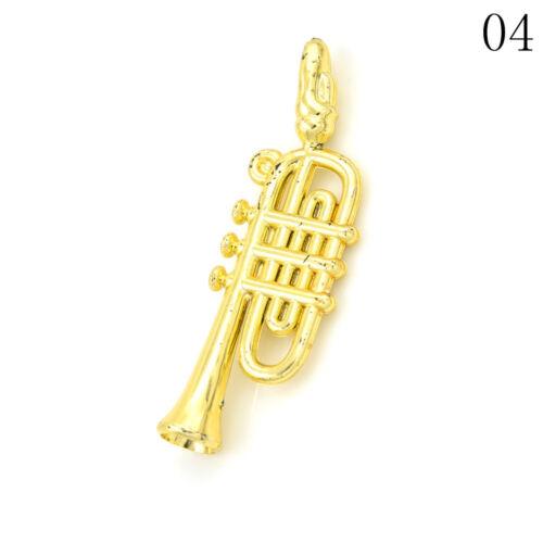 5Pcs 1:12 Casa De Muñecas En Miniatura Colección de instrumentos musicales Hágalo usted mismo Decoración del hogar S/&K
