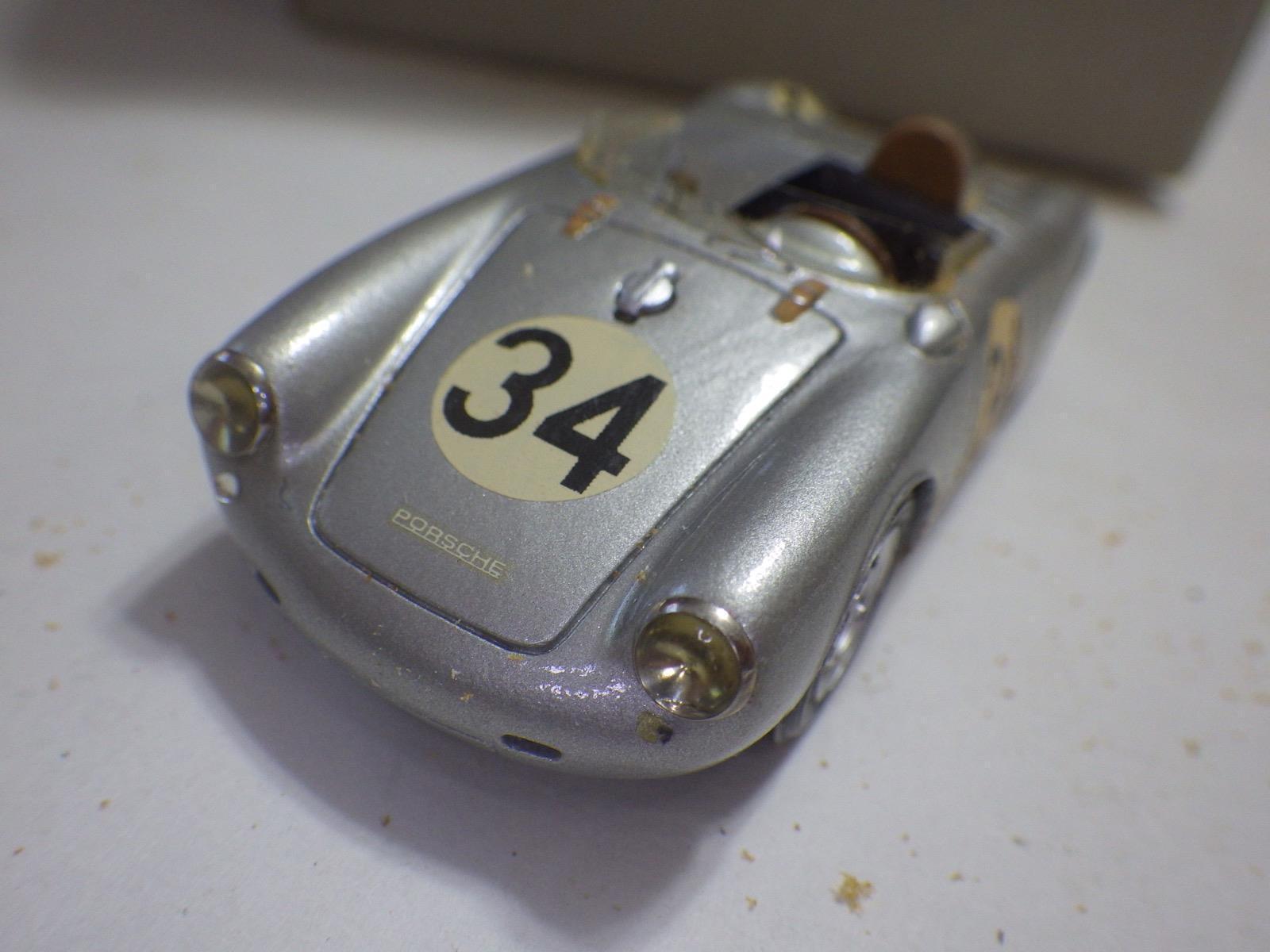 buena reputación M.d.l. (Italia) Plata Porsche 550RS Spyder construida a a a mano Resina 1 43 Nuevo En Caja  producto de calidad