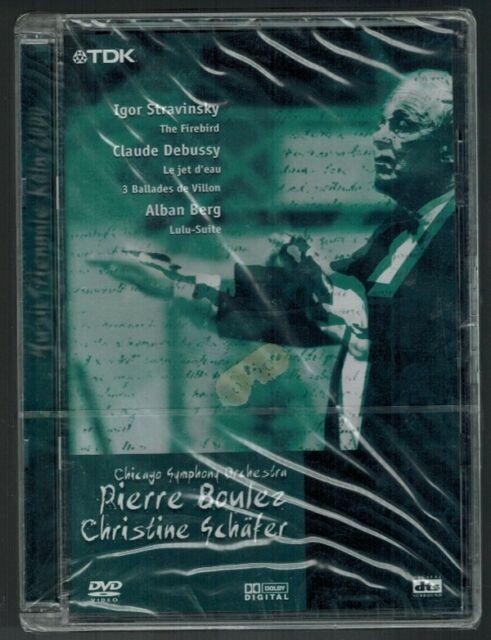 Pierre Boulez Christine Schäfer DVD Chicago Symphony Orchestra