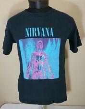 VTG Nirvana T Shirt 1992 Sliver Tour Concert Album Kurt Cobain Small 90's Promo