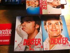 Dexter -  Saison Season 1+ 2 [ 10 DVD ] FSK18 FRANCE