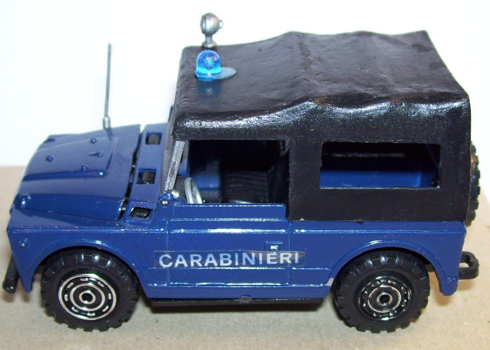 RARE OLD MADE IN ITALY MERCURY FIAT CAMPAGNOLA CARABINIERI REF REF REF 31 1975 1 43 e0460c